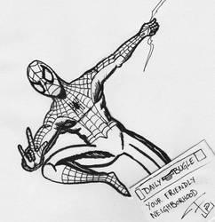 Spider-Man - Ink sketch