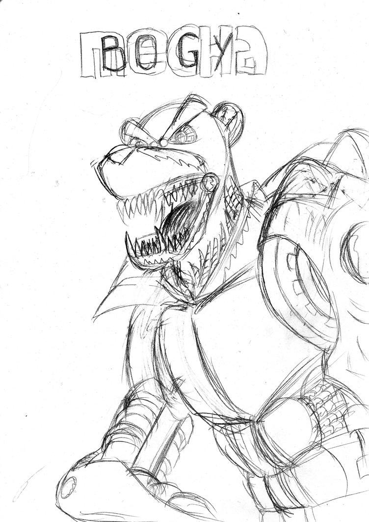 Mecha Bogy sketch (update) by FG-Arcadia