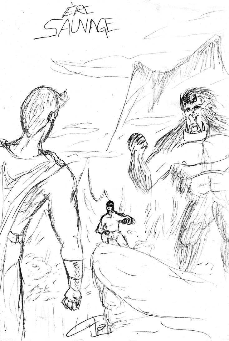 Revamped characters plus a few creations of mine Ere_sauvage_sketch_by_fg_arcadia-d81nnkz