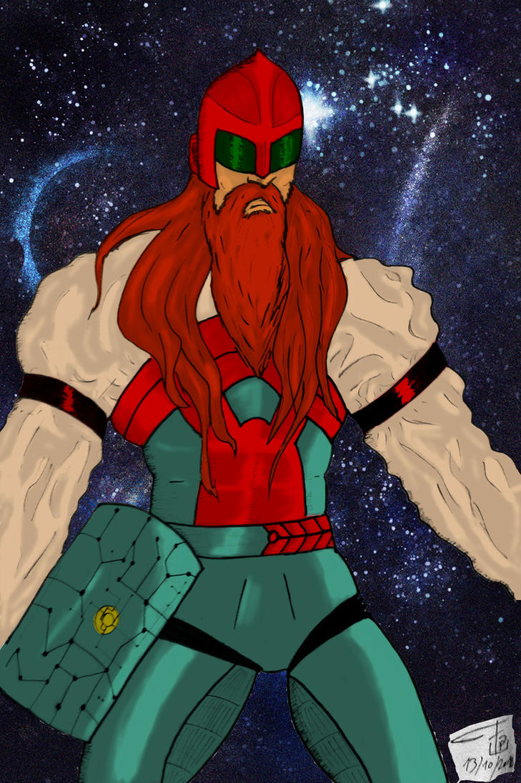 Space Thorr colored by FG-Arcadia