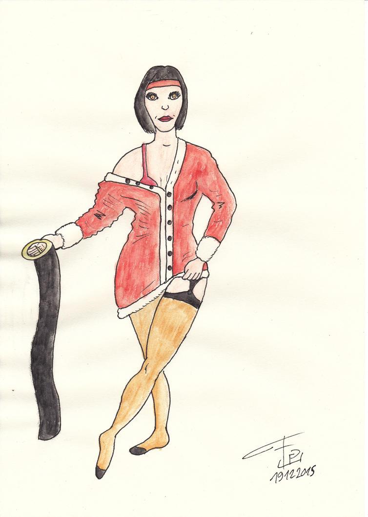 Zira Santa colors by FG-Arcadia