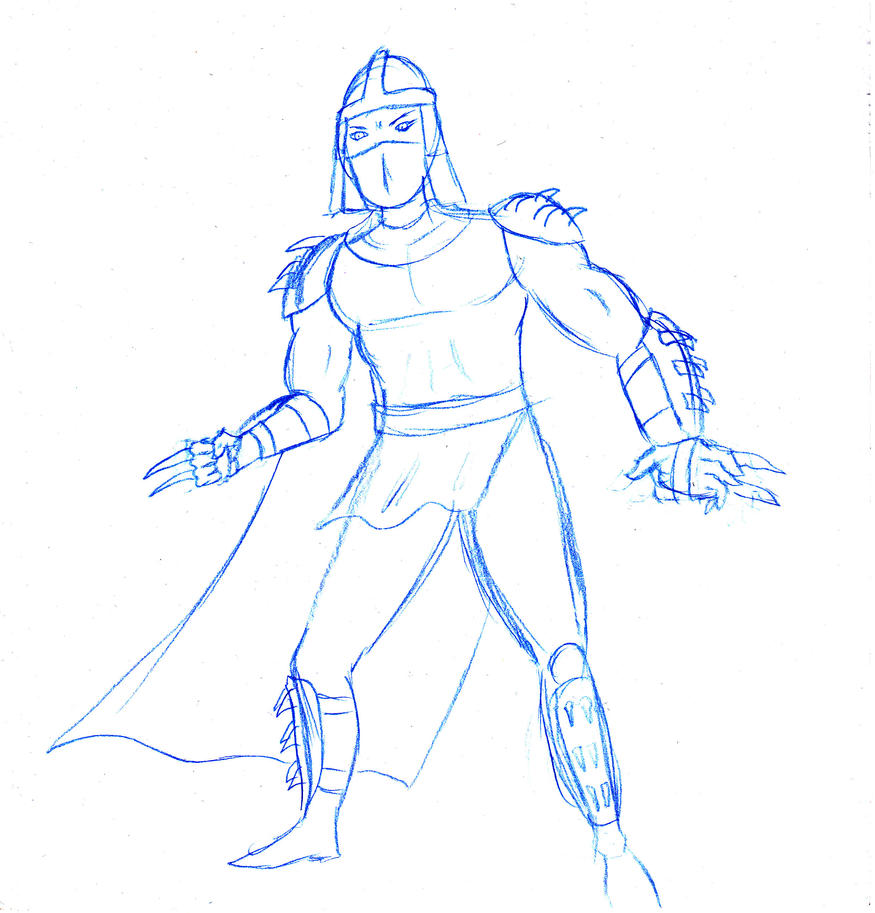 Shredder sketch by FG-Arcadia
