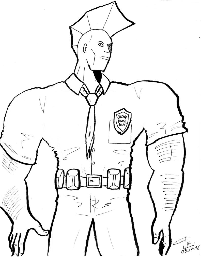 Savage Dragon by FG-Arcadia