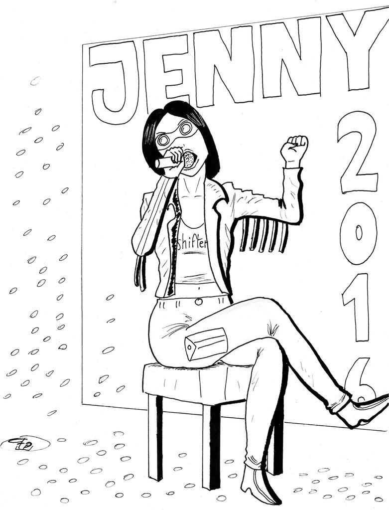 Jenny Everywhere Day 2016 by FG-Arcadia