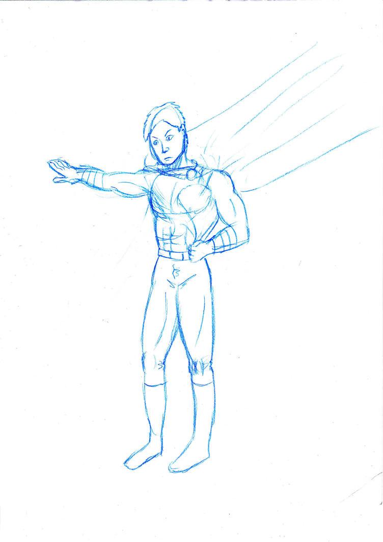 Sentinel sketch by FG-Arcadia