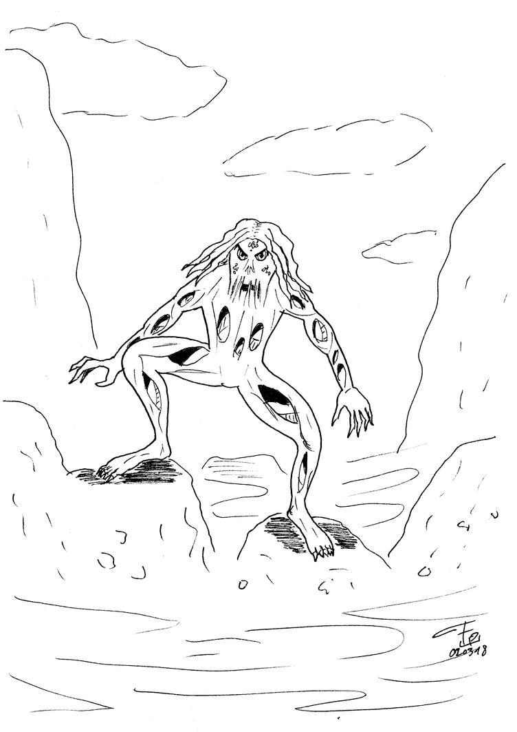 Wampus - quick drawing by FG-Arcadia