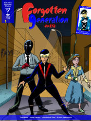 Forgotten Generation Extra #1 cover by FG-Arcadia