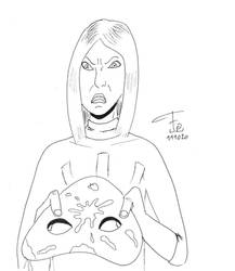 Inktober 2020 11 - Disgusting - Eva Vanzetti
