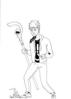 Inktober/OC_tober 28: Most Drawn OC - Ewen Merrick