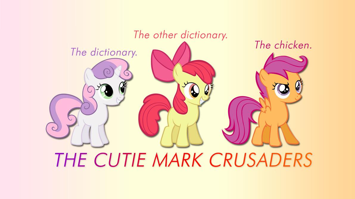 Cutie Mark Crusaders Wallpaper by apertureninja
