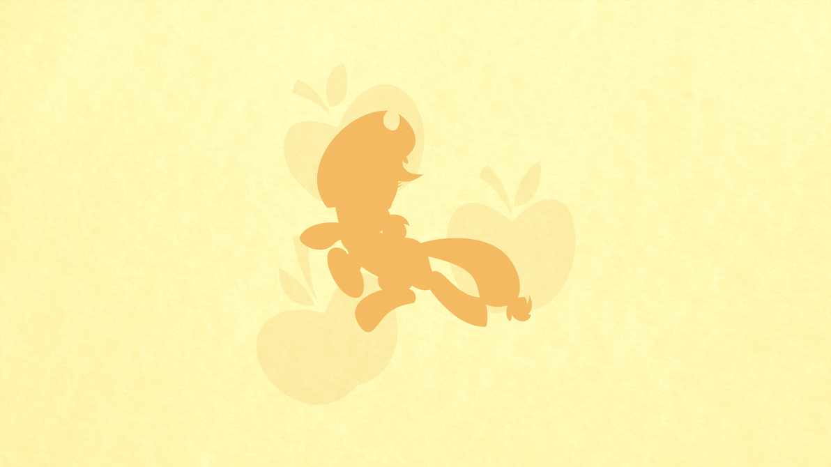 Applejack Minimalist Wallpaper by apertureninja
