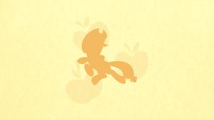 Applejack Minimalist Wallpaper by apertureninja
