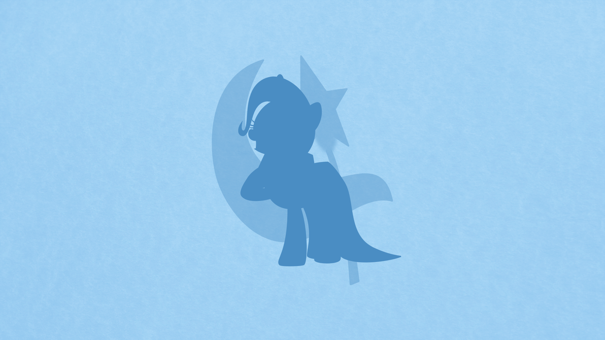 Trixie Minimalist Wallpaper by apertureninja