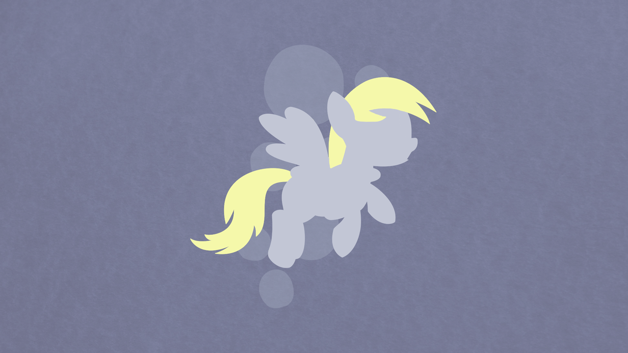 Derpy Hooves Minimalist Wallpaper by apertureninja