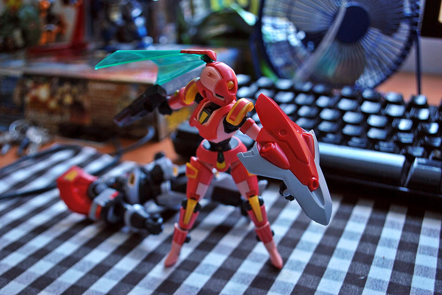 Danball senki  LBX Kunoichi Shield by jerungan