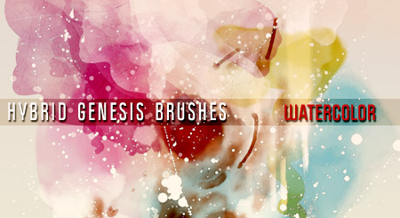 Photoshop Watercolor Brushes by In5omn1ac