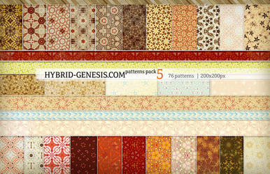HG Photoshop Patterns Pack 5