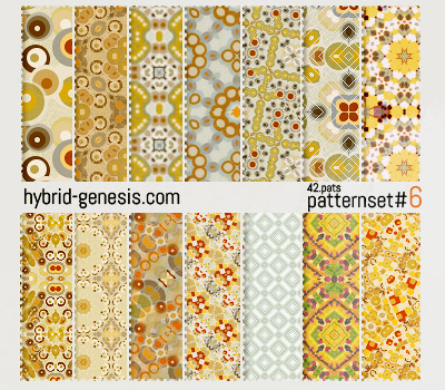 HG Photoshop Patterns 6 by In5omn1ac