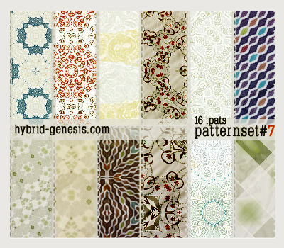 HG Photoshop Patterns 7 by In5omn1ac