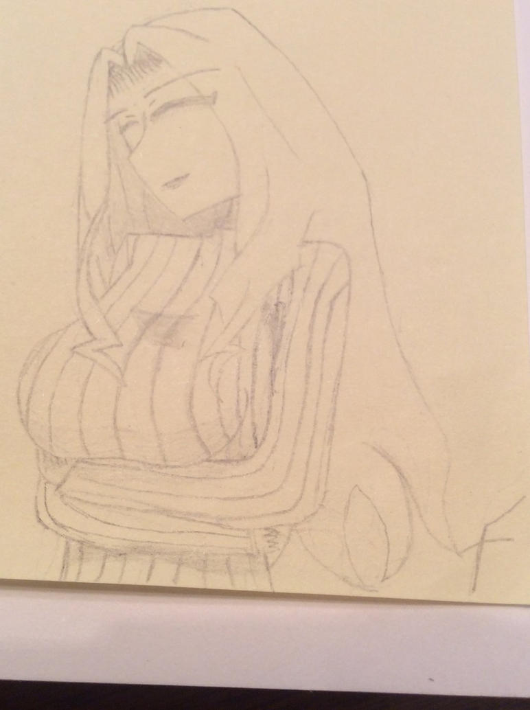 Elizabeth Mably, custom drawing  by FosterAoi