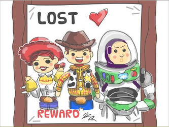 Toy Story Chibi by kittymaxwell2005