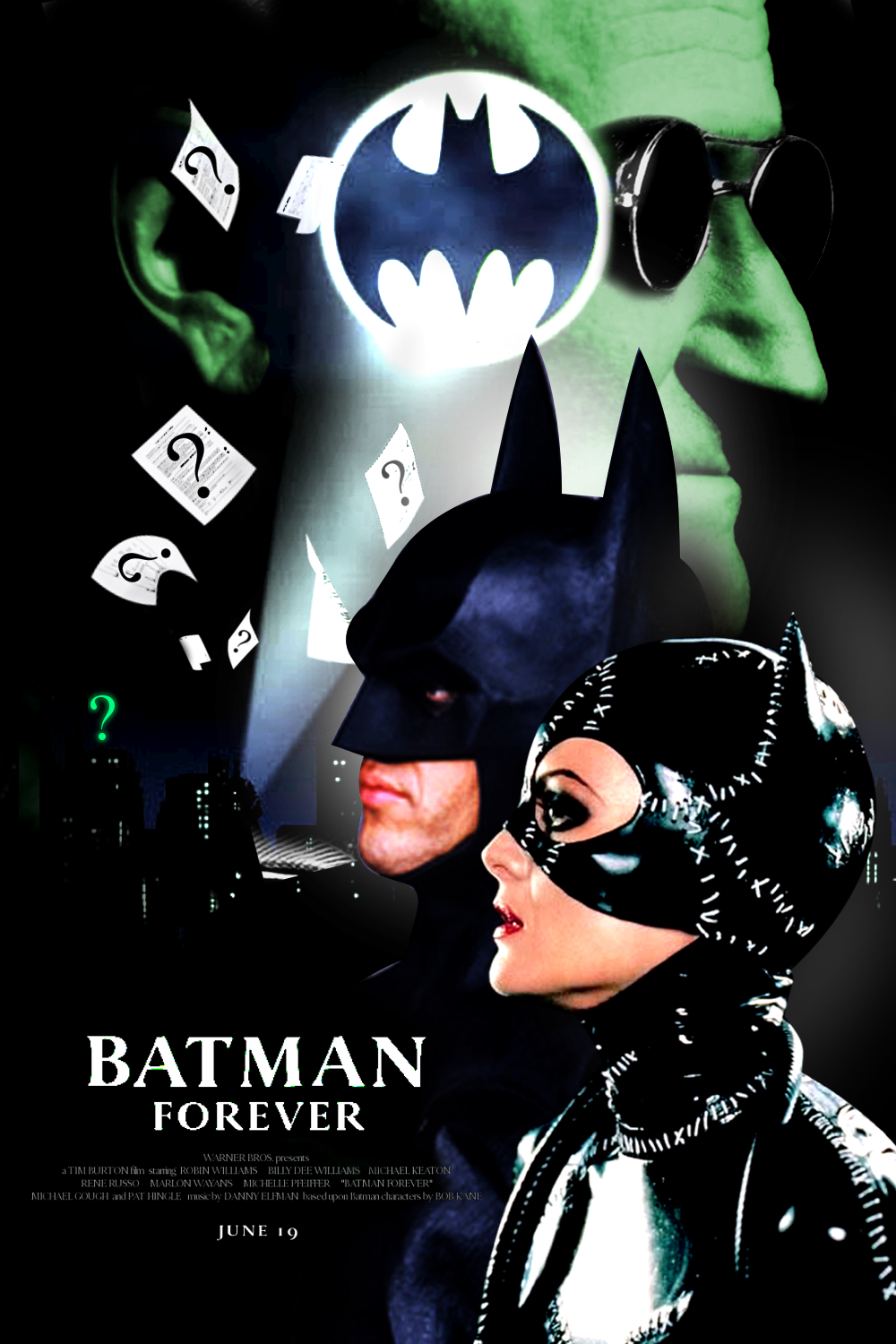 Tim Burton's Batman Forever - FAN POSTER by Paolo97 on ...