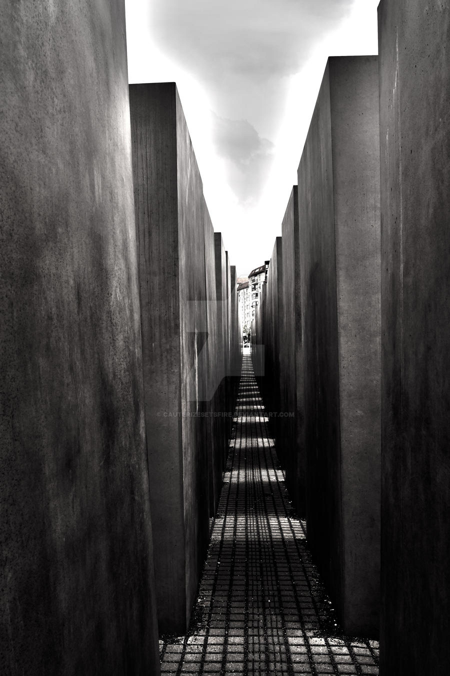 Holocaust Maze by CauterizeSetsFire