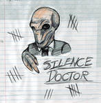 Silence Doctor by StarDapple