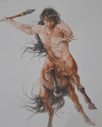 Centaur Study by Fabeltier