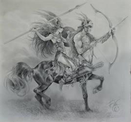 Ready for Battle by Fabeltier