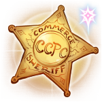 CCPC Sheriff's Badge by The-Book-of-Aether