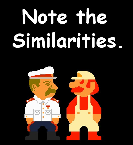 Mario And Stalin Historical Accuracy Correction by DrSVH