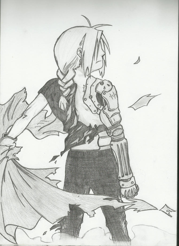 Edward Elric by mezza-muggles