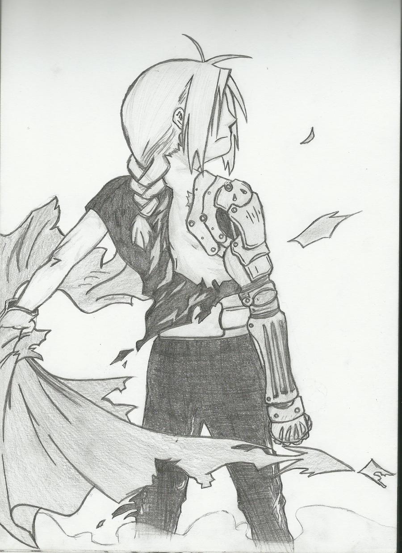 Edward Elric by mezza-muggles