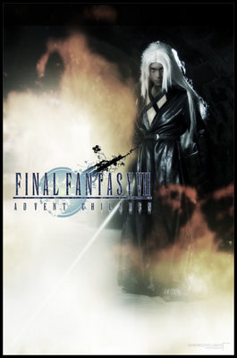 Final Fantasy VII - Sephiroth by ruinpyroclasm