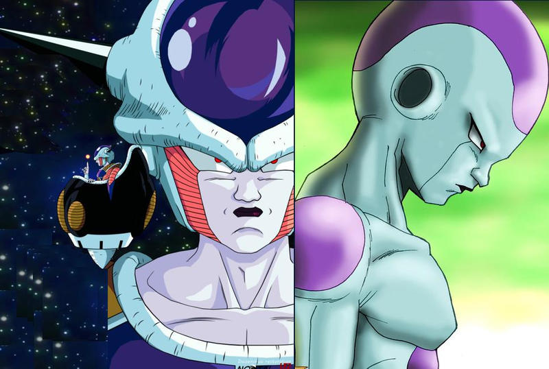 Frieza First form and last form by Metalhead211 on DeviantArt