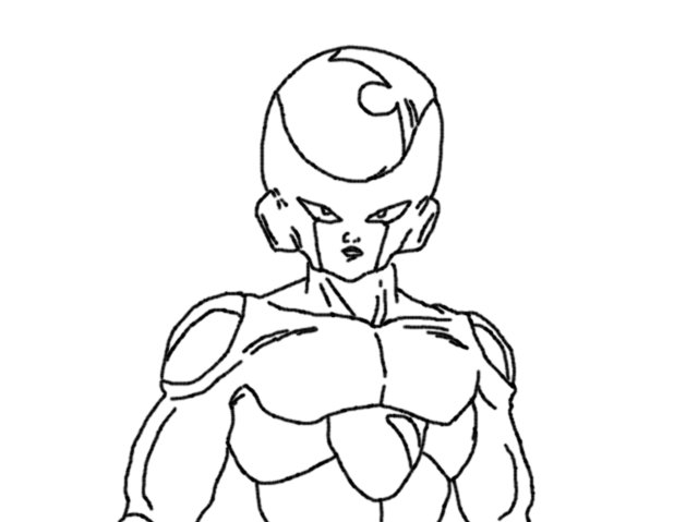 dbz coloring pages frieza - photo#46