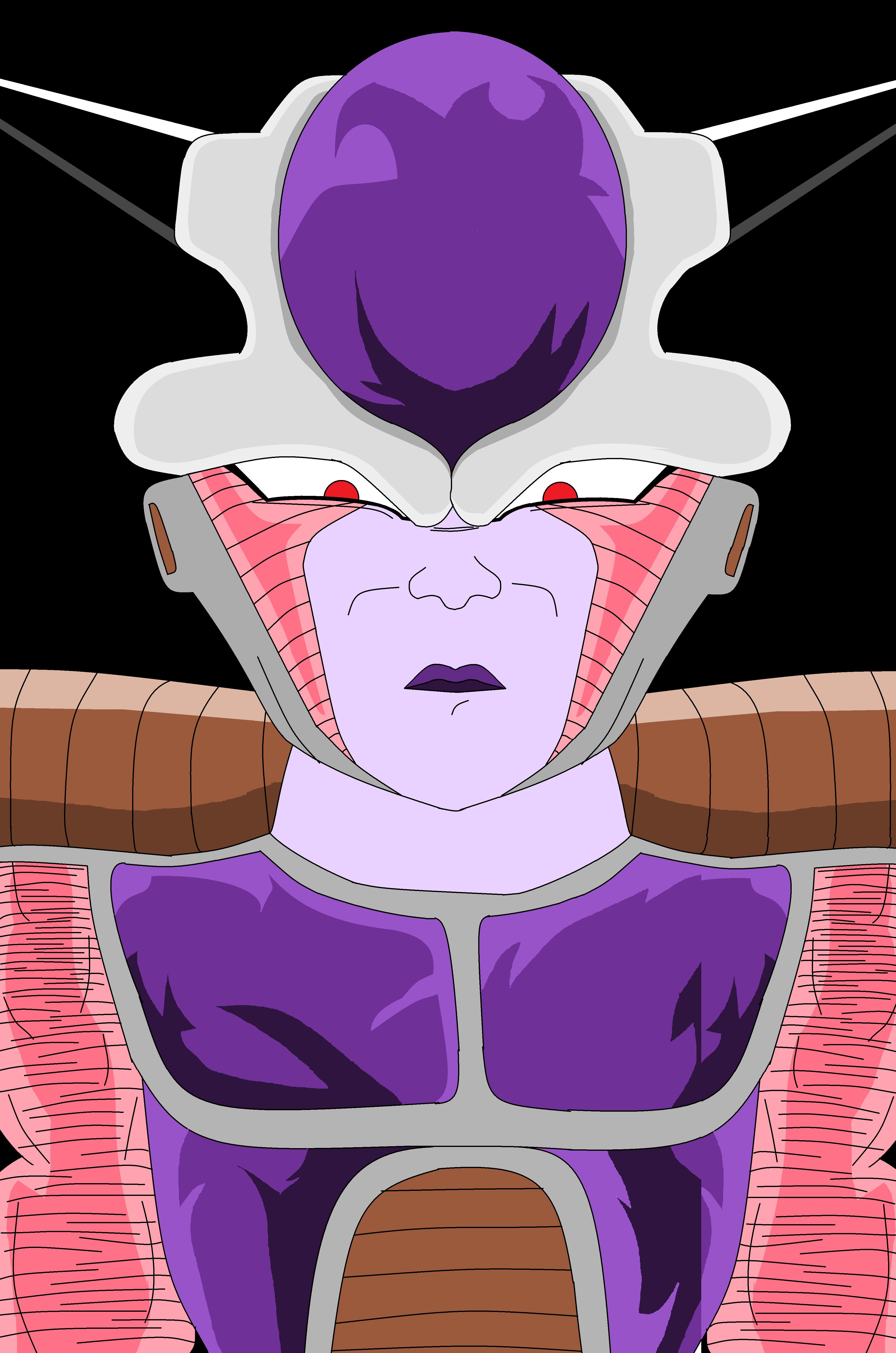 Frieza in his First Form (Power level 530,000) by Metalhead211