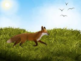 Fox by thekittyking