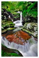 Adams Falls by joerossbach
