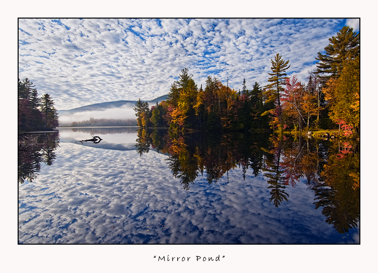 Mirror Pond by joerossbach