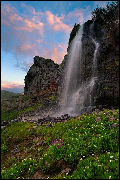 Porphyry Basin Falls by joerossbach
