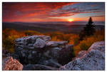 September Light from Bear Rock