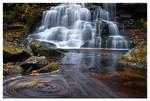 Swirlies below Second Falls