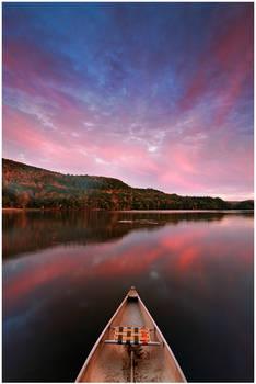Echo Lake Canoe