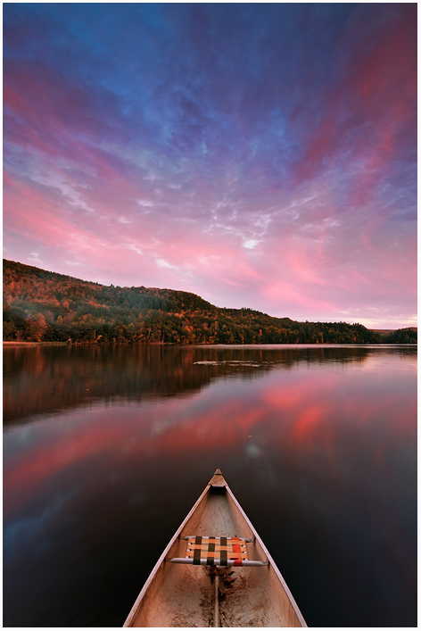 Echo Lake Canoe by joerossbach