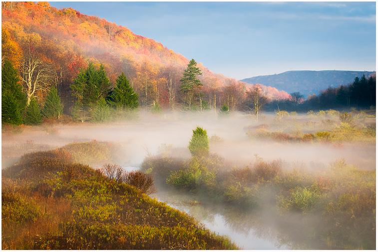 Mountain Meadow Fog by joerossbach