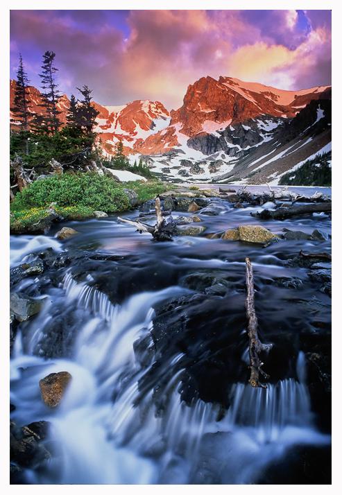 Pawnee Peak Sunrise by joerossbach