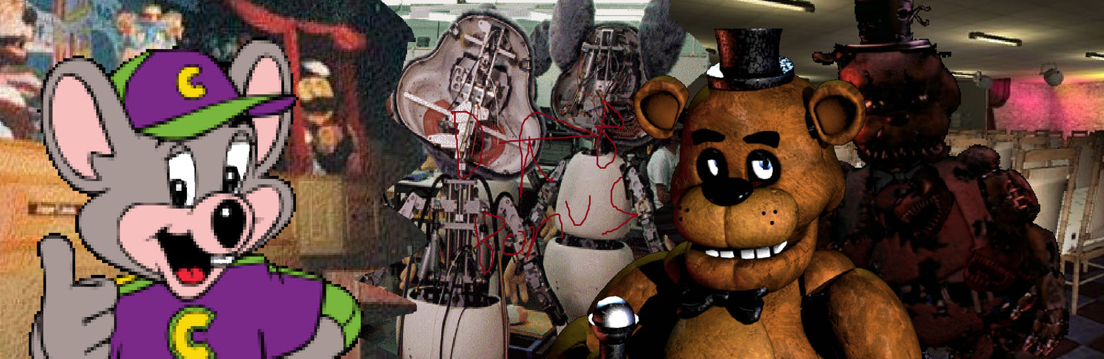 Mr Nightmare Chuck E Cheese : Cheese news stories that seem like a recreation of the first fnaf game in real life, but not all is as it seems.