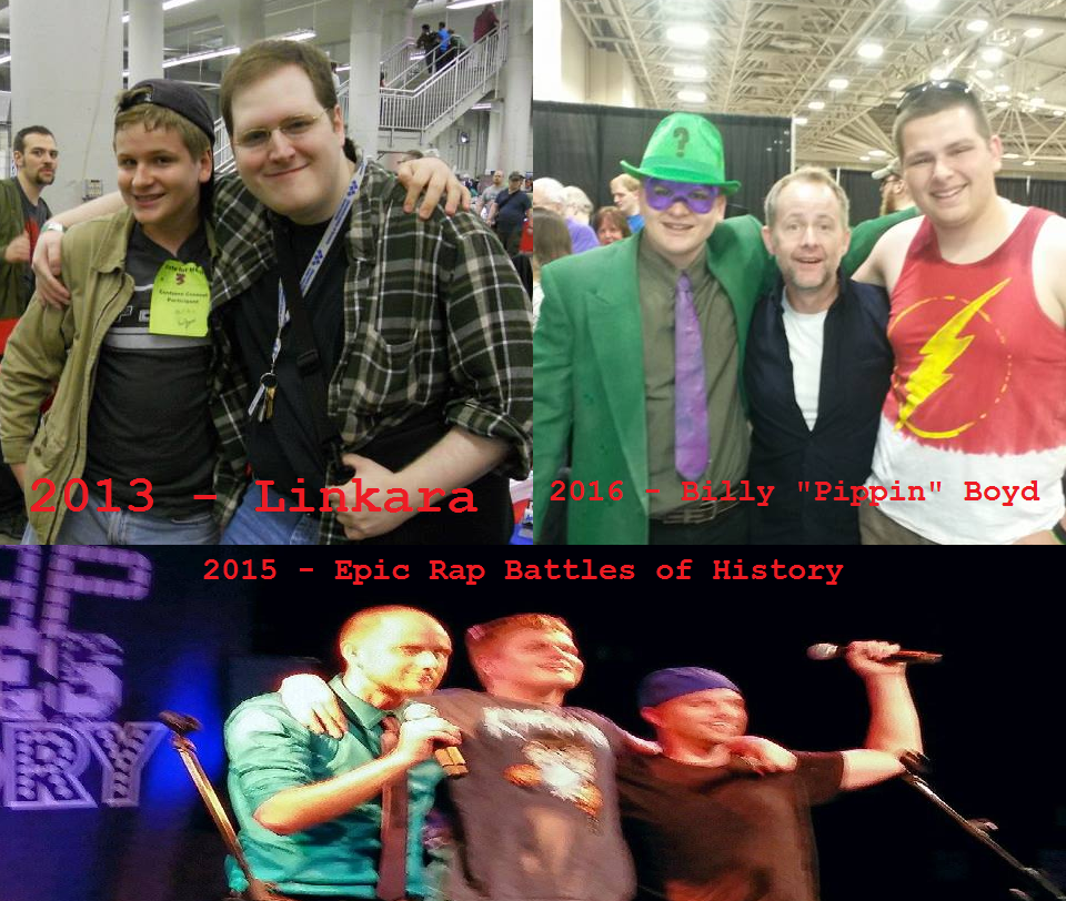 Throwback Thursday with photos of celebs I met by dragonsblood23